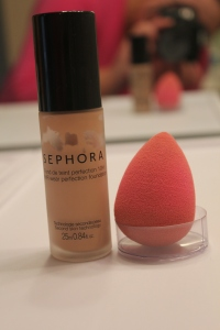 Next up is foundation, I LOVE using my beauty blender to apply it!