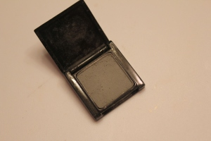 I wanted this look to have a cooler tone to it, so I used this Make eyeshadow in Cement as a base for the eyeshadow.