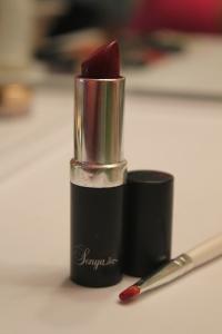 Finally I used Forever Aloe's Sonya Lipstick in Deepest Love