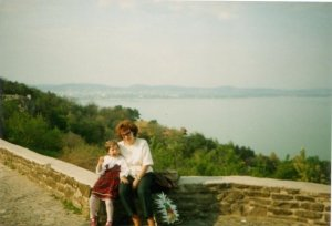 My family and I loved exploring new places. This is my mom and I on one of those trips.