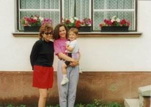 My mom, aunt and I. (Just this week my beautiful aunt just had a gorgeous daughter)
