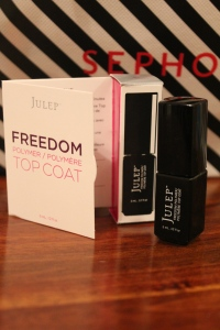 This is my second 100 point sample. I love Julep but I' haven't had a chance to try their top coat yet.