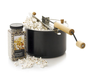 Theater Popcorn Popper. $29.95. http://www.crateandbarrel.com/gift-ideas/our-favorite-gifts/theater-popcorn-popper/s497401