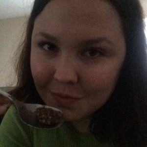 Steel Cut Oats with half a scoop of Shakeology, it completely killed my chocolate craving